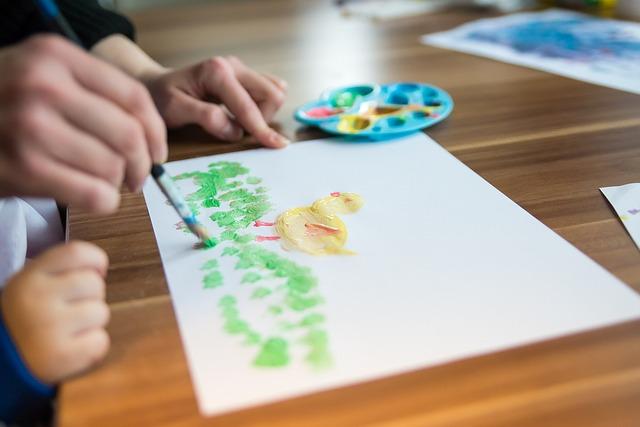 malování ve školce