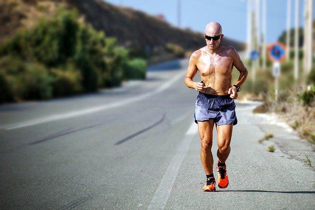 kondiční běh po silnici