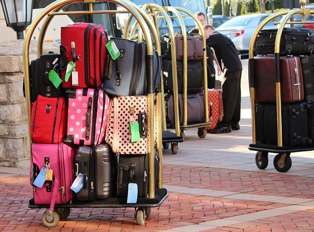zavazadlový vozík