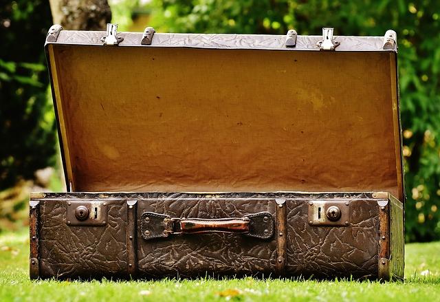 starý kufr