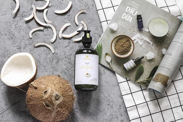 kokosový šampon