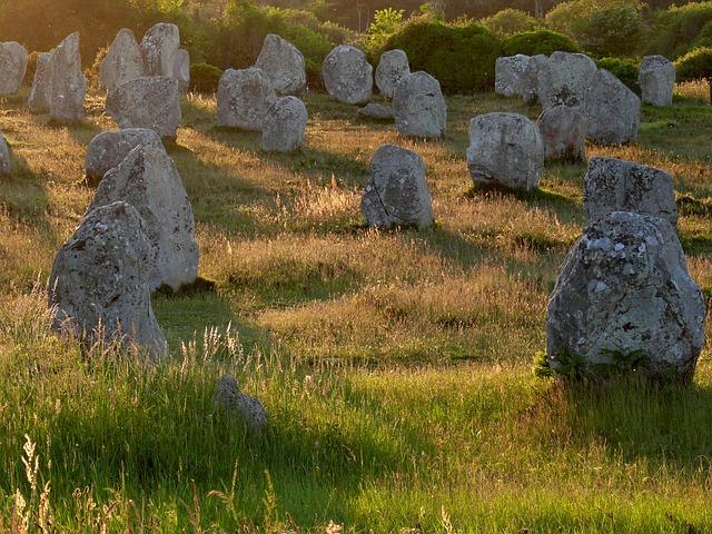 kamenné menhiry