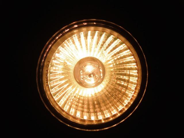 halogenové reflektory