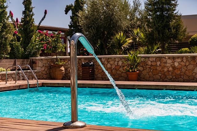 voda do bazénu