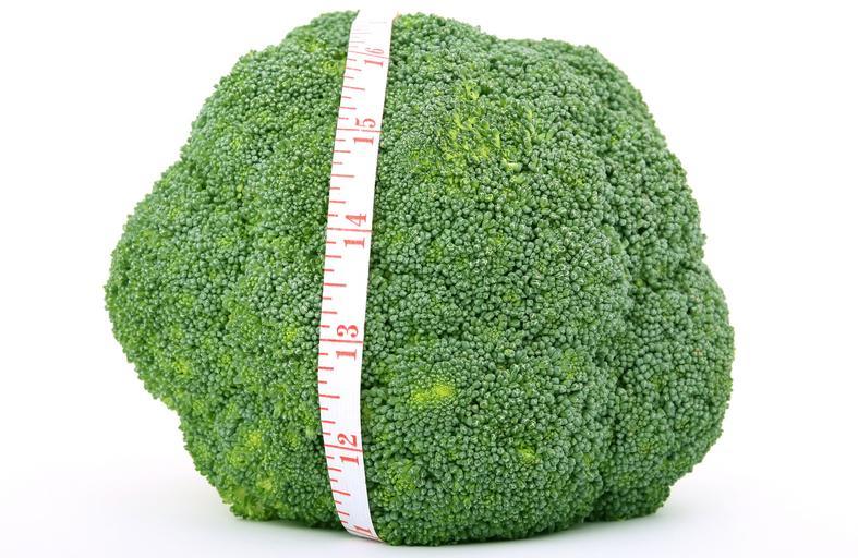 hubnutí s brokolicí
