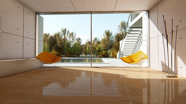 Podlaha dělá pohodlí domova
