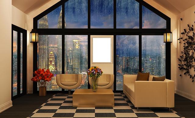 koberec v pokoji