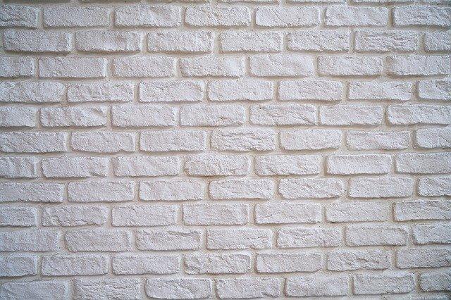 Detail betonové zdi